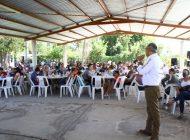 Trabajaré para resolver deuda social con comunidades: Gerardo Vargas