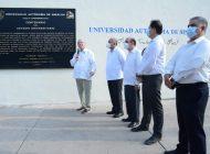 Coloca UAS placa conmemorativa de los 100 años del Estadio Universitario