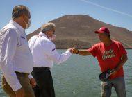Rocha anuncia partida especial en presupuesto estatal para pescadores, agricultores y ganaderos