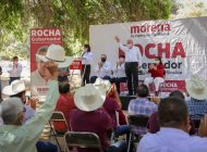 Se confirma voluntad popular en encuestas: Rocha sigue creciendo