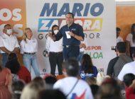 """Mario Zamora: """"El gobierno de Sinaloa hará realidad el sueño de las mujeres"""""""