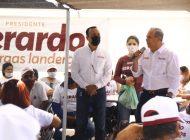 Las personas más vulnerables ya comienzan a sonreír gracias a Morena: Vargas Landeros