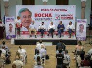 Rocha Moya propone impulso y descentralización del fomento a la cultura