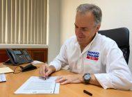 Firma Sergio Esquer pacto por la primera infancia y se compromete con la niñez