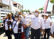 Ahome | El sector campesino sigue sumándose al proyecto de Gerardo Vargas Landeros