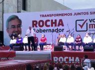 Con Gerardo Vargas vamos a impulsar Ahome: Rubén Rocha Moya