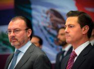 Inhabilitan por 10 años a Luis Videgaray, secretario de Hacienda con Peña Nieto