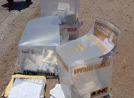 Los Mochis | Tiran urnas robadas en plena calle