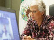 Olga Sánchez Cordero alertó sobre extorsión a través de WhatsApp a su nombre