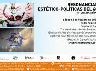 Movimiento 68 | Cristina Hijar hablará sobre resonancias estéticas y políticas